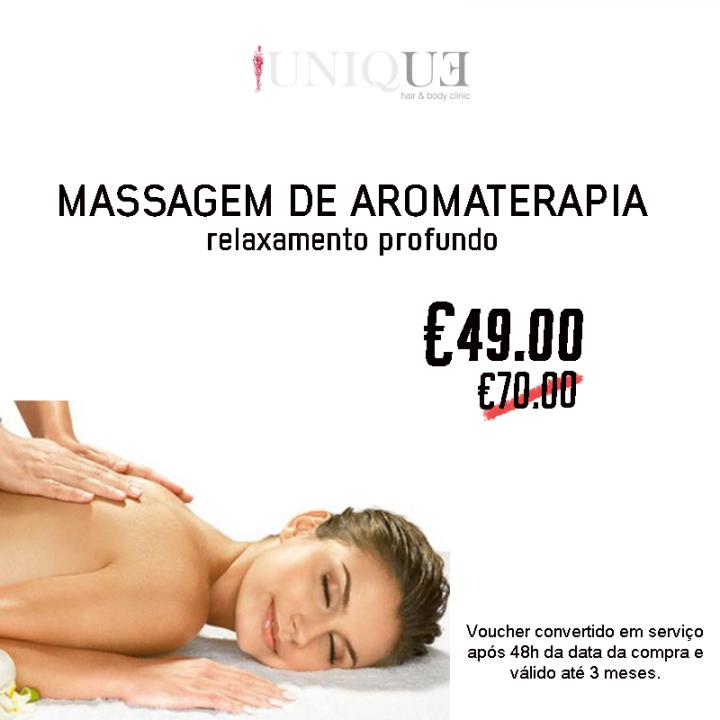 Voucher Massagem Aromaterapia