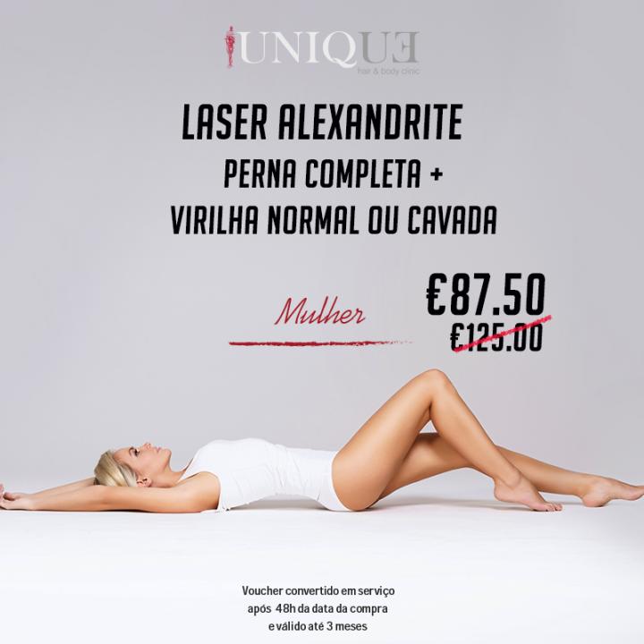 Laser Alexandrite - Mulher
